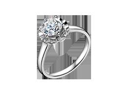 金伯利钻石戒指《花朵4》