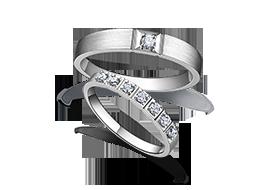 金伯利钻石对戒《爱·陪伴》