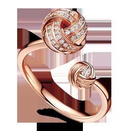 结系列玩趣珠宝戒指