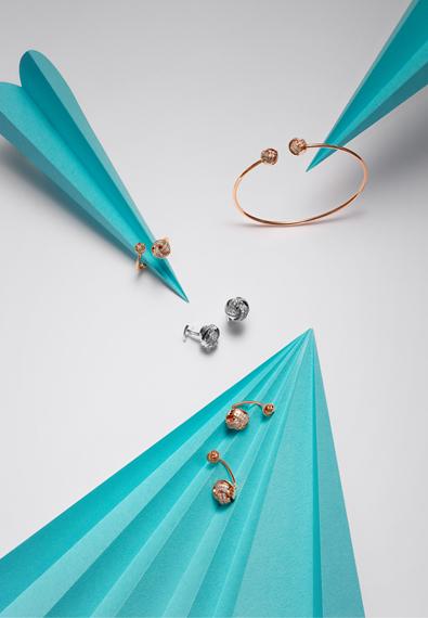 结系列玩趣珠宝袖扣
