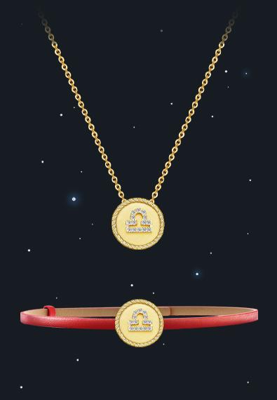 天秤座项链